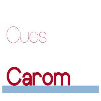CAROM CUES